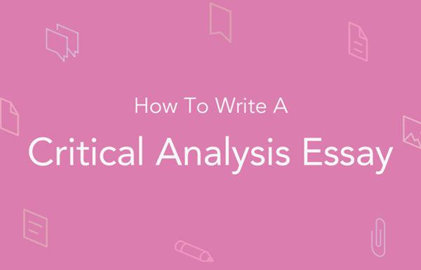 怎么写Critical-Analysis-Essay