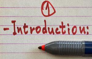 Introduction 部分常用写作技巧