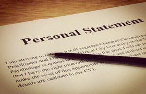 Personal statement代写