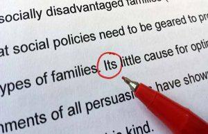 Essay中容易犯的语法错误