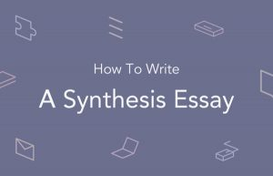 synthesis essay代写